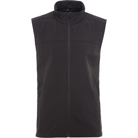 axant Alps Gilet Softshell Uomo, black